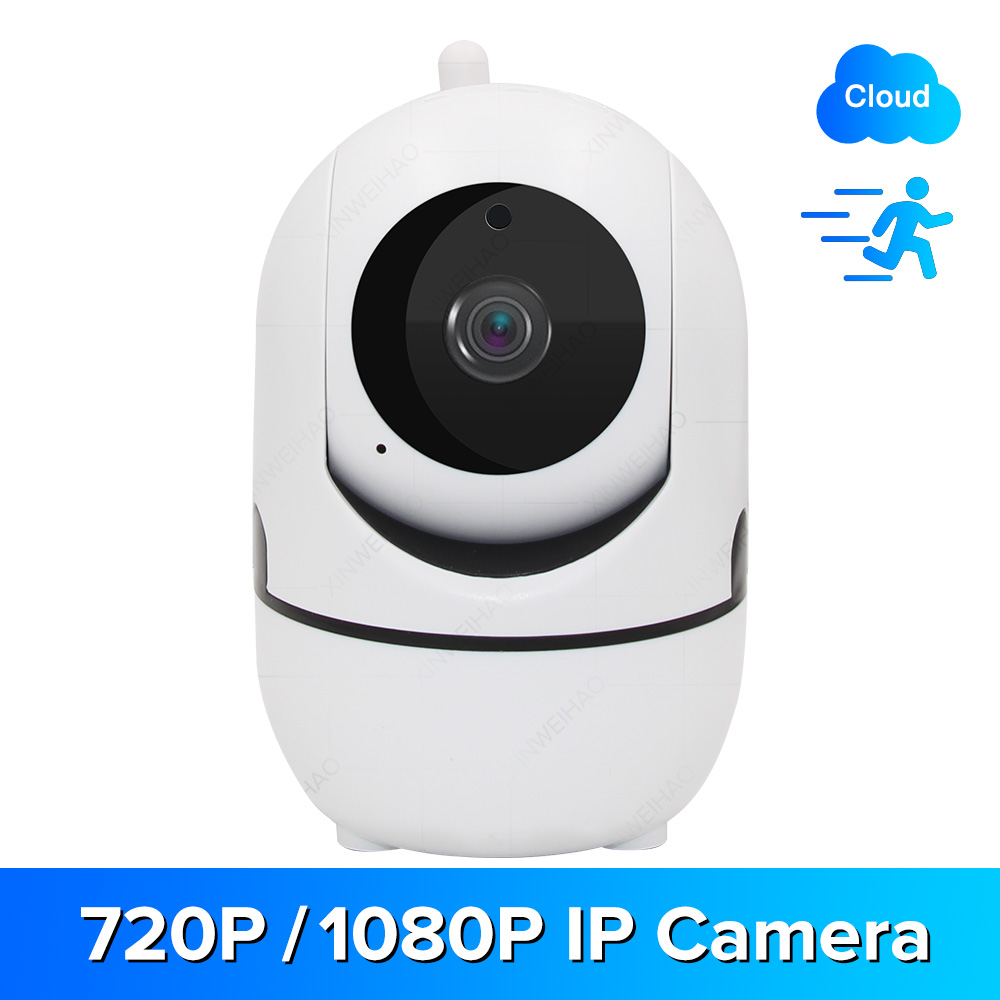 720P/1080P Wireless IP Camera Cloud Wifi Camera Smart Auto Tracking Human Home Security Surveillance CCTV Network