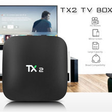 TX2 Afstandsbediening Global Tv Box 4K Hd Android 6.0 Box Smart Ultra Hd 2G / 16G bluetooth Wifi Google Iptv Decoder 4 Media Player(China)