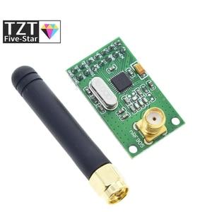 Image 1 - NRF905 Draadloze Transceiver Module Draadloze Zender Ontvanger Board NF905SE Met Antenne Fsk Gmsk Low Power 433 868 915 Mhz