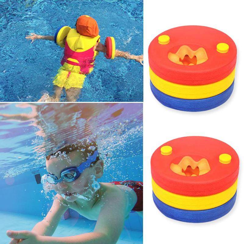 6pcs Kids Arm Bands EVA Foam Floating Sleeves Safety and Reliability Outdoor Special Purpose Pool Board Baby Swimming Exercises