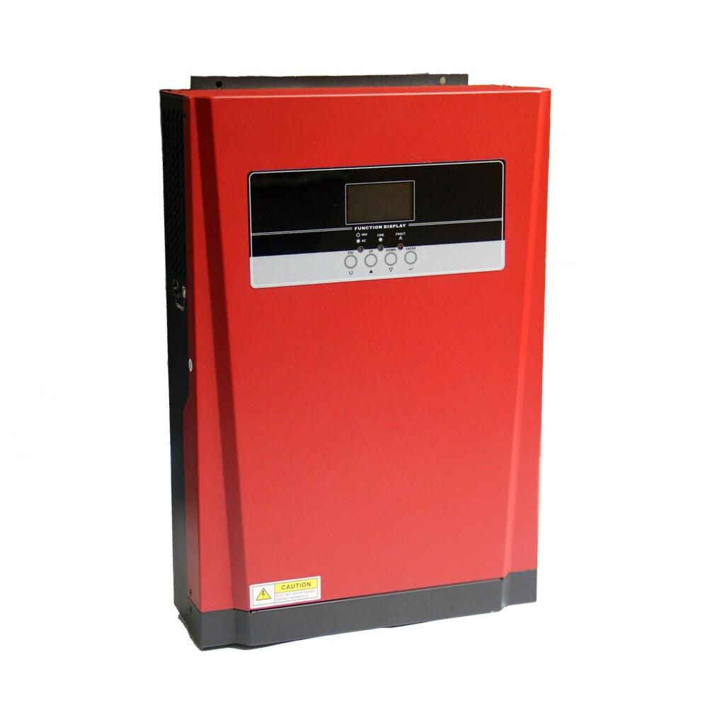 Série MPS-V 48VDC 5000W Alta Freqüência de Onda Senoidal Pura Off Grade MPPT Híbrido Inversor Solar MPS-V-5000-48