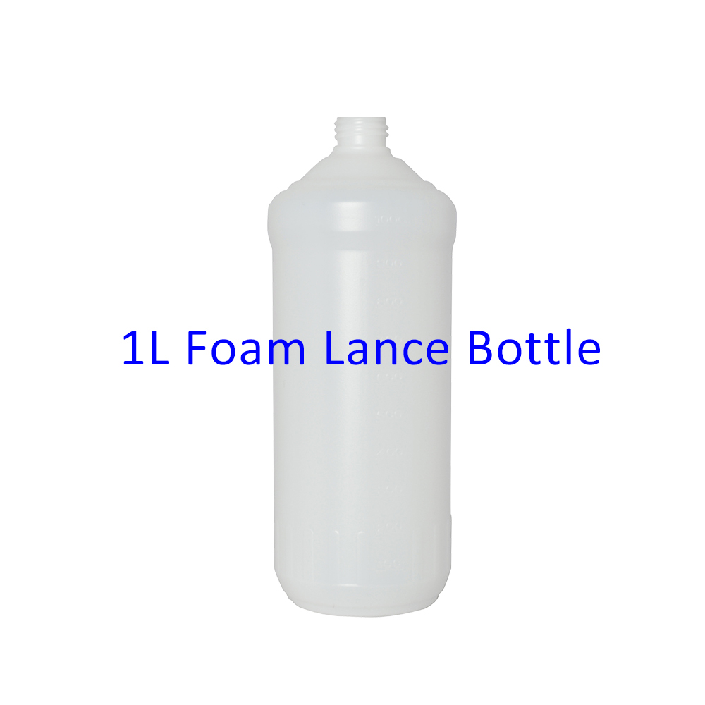 1L Plastic Bottle Container Tank For Snow Foam Lance/ Foam Nozzle/ Foam Generator/ High Pressure Soap Foamer