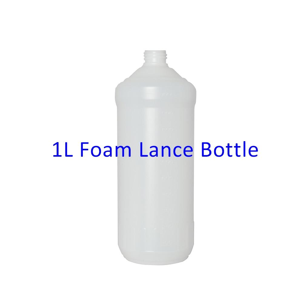 1L Plastic Bottle Container Tank For Snow Foam Lance/ Foam Nozzle/ Foam Generator/ High Pressure Soap Foamer