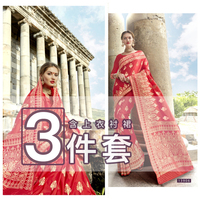 Custom Sarees For Women In India 3 piece Suit Ally Silk Embroidery Tradition Clothes Contain Petticoat Indian Dresses Sari