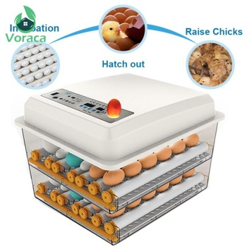120 Eggs Incubator Brooder Quail Bird Incubator Chick Hatchery Poultry Tool Hatcher Turner Automatic Farm Incubation Tools 2