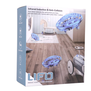 Rc Quadcopter Flying Helicopter Magic Hand UFO Ball Aircraft Sensing Mini Induction Drone Kids Electric Electronic Toy 6