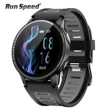 Ip68 à prova dip68 água relógio inteligente esporte fitness rastreador monitor de freqüência cardíaca relógio inteligente esportes das mulheres dos homens saúde smartwatch