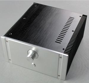 Image 1 - 2412B מלא אלומיניום מארז מגבר כוח כיתת מקרה AMP מארז אודיו תיבה