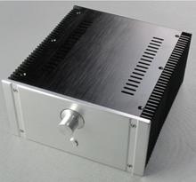 2412B Volledige aluminium Vermogen versterker chassis Klasse EEN case AMP Behuizing Audio doos