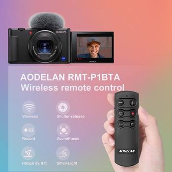 AODELAN, Bluetooth, Control remoto inalámbrico para Sony A9 A9II A6100 A6400 A6600 A7III A7RIII A7RIV RX100M7 RX0II ZV-1