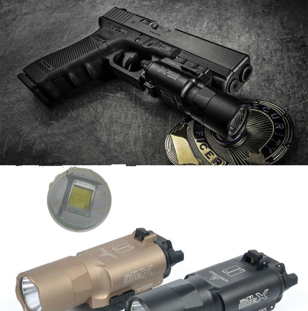 x300 tático ultra pistola luz x300u lanterna