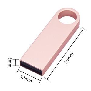Image 5 - High Speed Pendrive Personalizado Logo Metal Usb Flash Drive Memory Stick 32gb 16gb 8gb 4gb Christmas Gifts Gadget Storage Disk