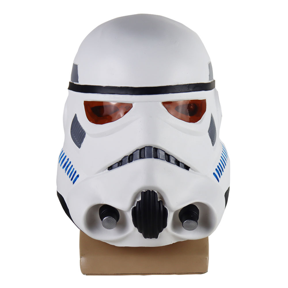 Game Star Wars Imperial Stormtrooper Mask Cosplay The Rise of Skywalker Latex Helmet Masks Halloween Party Props image