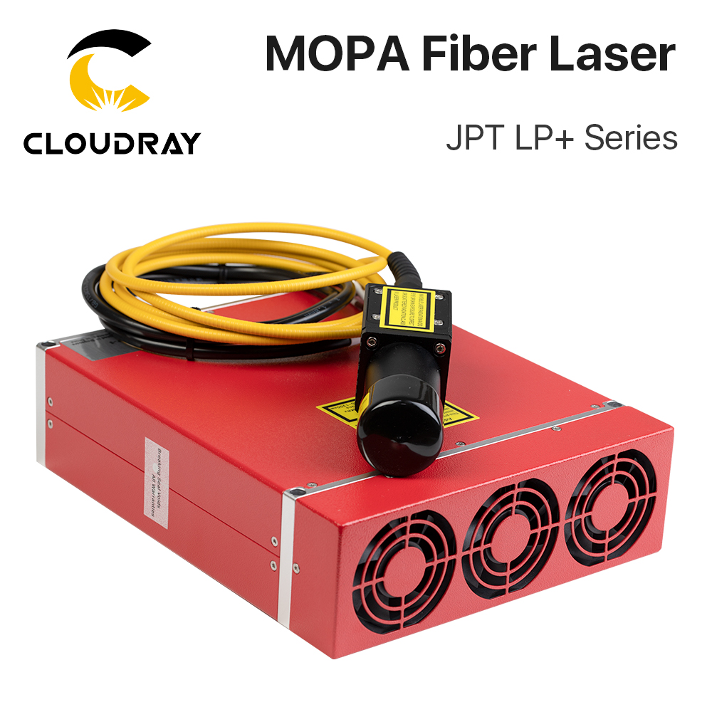 Cloudray JPT LP+ Series 20W 30W MOPA Pulse Fiber Laser Module With Wide Frequencies High Quality For Fiber Laser Machine