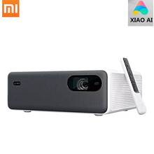Xiaomi Mijia Laser Projector Xiao Ai 4 K 3D Hdr Miui Tv 2400 Lumen 2 + 16 Gb Wifi Bluetooth 150 Inch 10W Speaker Home Theater(China)
