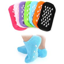 Moisturizing Whitening Exfoliating Foot Mask Gloves Spa Gel Socks Hand Mask Feet Care Beauty Cotton Socks цена