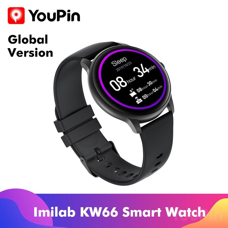 Умные часы в наличии Imilab KW66, спортивные металлические IP68 Водонепроницаемые iOS Android от Youpin|Смарт-браслеты| | АлиЭкспресс