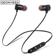 Auriculares estéreo con Bluetooth, auriculares inalámbricos con Supergraves para Samsung, Xiaomi, iphone 5, 6, 6s, 7, magnéticos