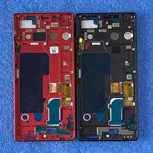 """4.5 """"オリジナル用blackberry KEY2 BBF100 1/2/4/6 lcdスクリーンディスプレイ + タッチパネルデジタイザのためのフレームキー2キー2 keyone 2"""