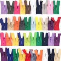 10 stücke Invisible Zipper 28cm 35cm 40cm 50cm 55cm 60cm Reißverschlüsse für Nähen Handgemachte bekleidung/Taschen/Home Textil, tailor Kanalisation
