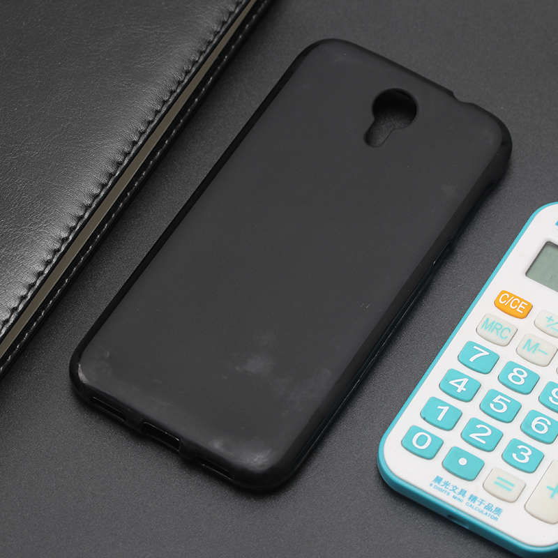 AMMYKI 5.0'For Doogee Homtom HT3 HT3 Pro case High grade soft Black silicone phone cover 5.0'For Homtom HT3 case(China)