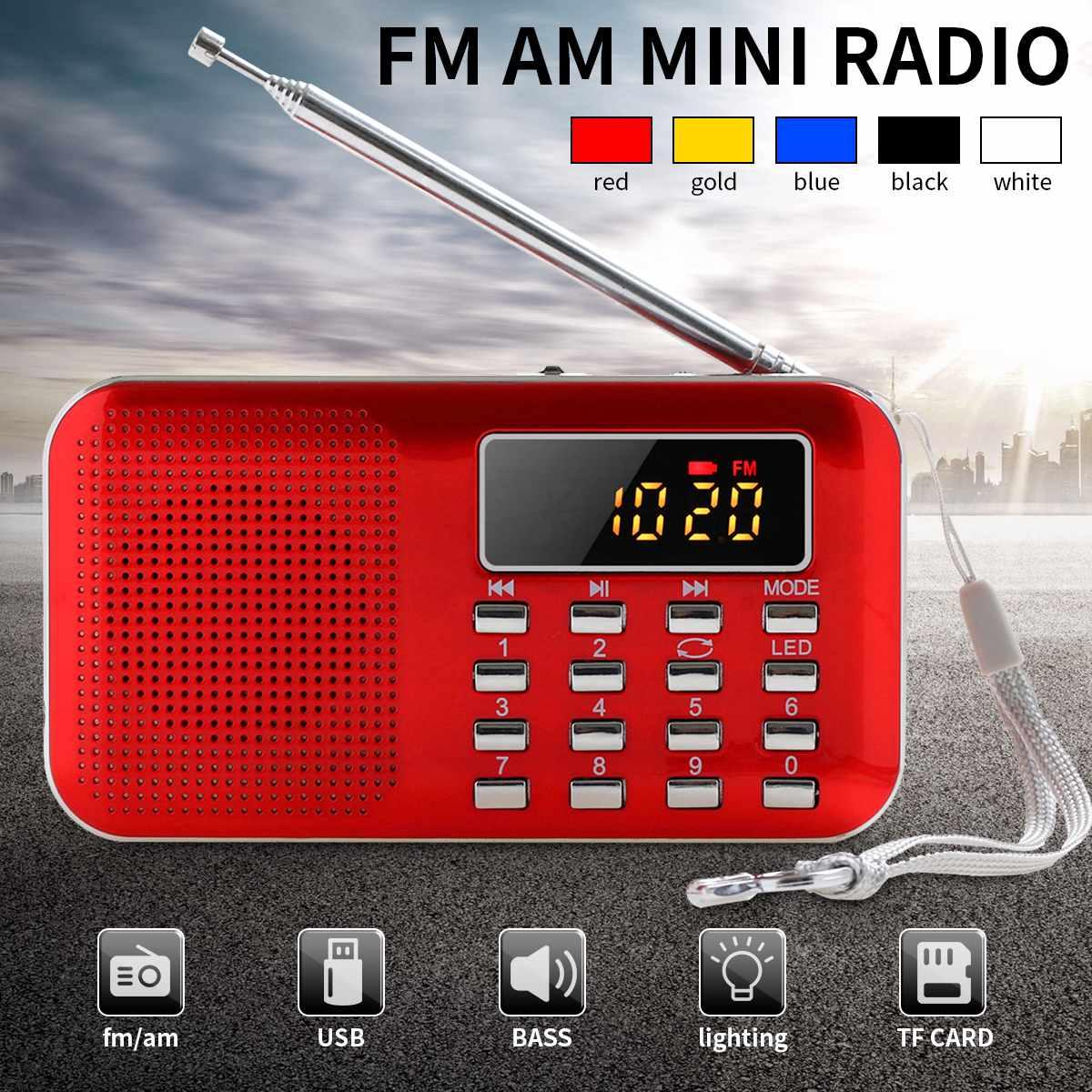 Tragbare Radio FM/AM/SW Welt Empfänger MP3 Player Rec Recorder Mit Schlaf Timer Schwarz FM Radio Recorder mini Radio radios