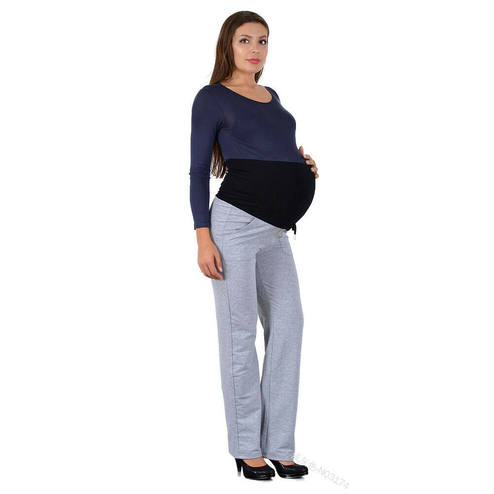 Maternity Clothings Warm Leggings For Pregnant Women Pregnant Pants Pregnancy Clothes Spring Summer Maternity High Waist Pants