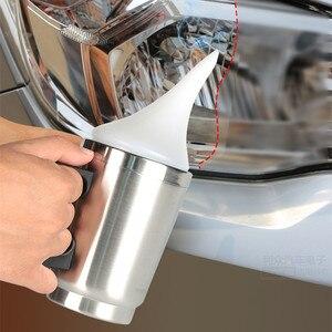 DIY автомобильный комплект для ремонта фар распылитель клеевая форма для восстановленного жидкости объектив комплект для ремонта лампы обновления фар обновления Комплект распылительной чашки набор        АлиЭкспресс