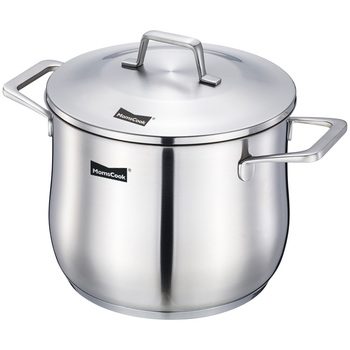 No. 304 stainless steel pot home soup supercharging large capacity deepening oatmeal porridge  stew
