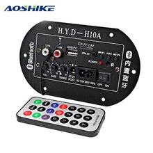 Audio-Board Subwoofer Fm-Radio Digital Bluetooth Built-In 24V 12V 220V AOSHIKE Ic-Tube