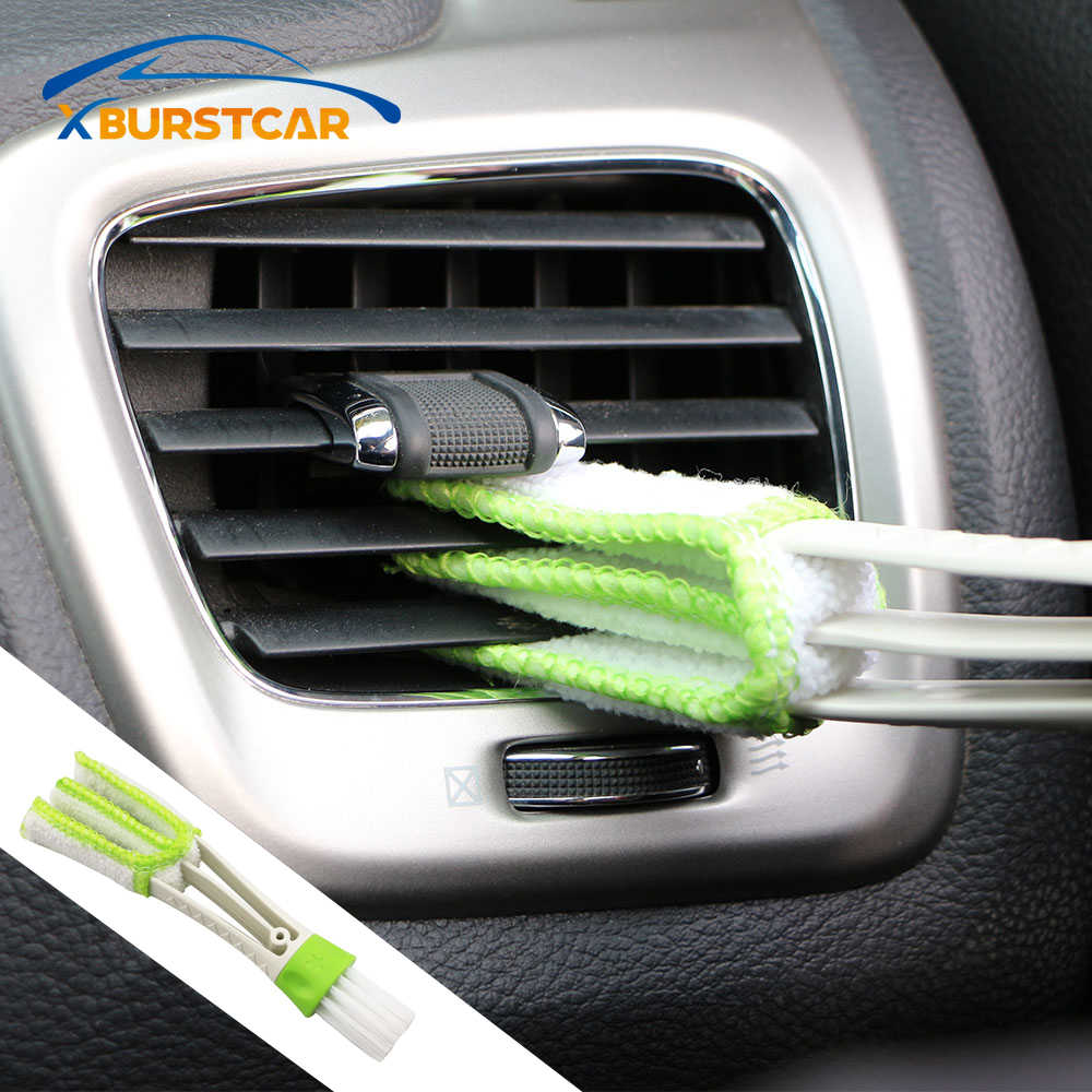 Car Cleaning Double Side Brush for Nissan Nismo Tiida Teana Skyline Juke X-Trail Almera Qashqai Accessories Car-Styling