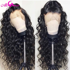 Image 5 - Brazilian Deep Curly Human Hair Wig 13x6 Lace Front Human Hair Wig 150% Density For Black Women Pre Plucked Remy Hair Lace Wigs
