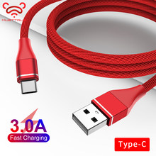 MUSTTRUE Type C USB-C Cable for huawei mate 30 pro redmi note 10 Android Charger Phone Cable for samsung A70 USBC Charging Cable(China)