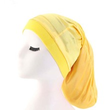 XEONGKVI New Stretch Dreadlock Bonnet Skullies Beanies Sprin