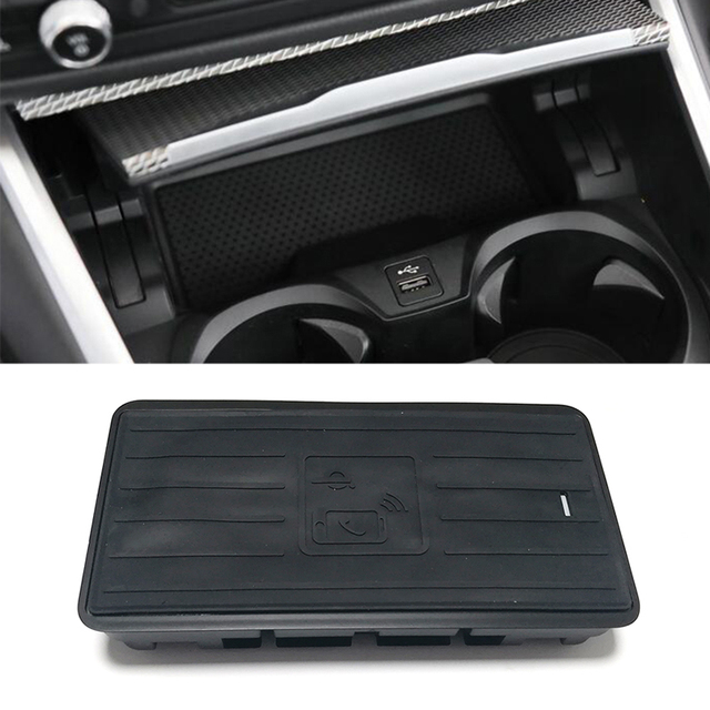 10W Qi Draadloze Oplader Voor Bmw 3 Serie G20 G28 325I 330I 2019 2020 Draadloze Opladen Telefoon Oplader Opladen plaat Accessoires