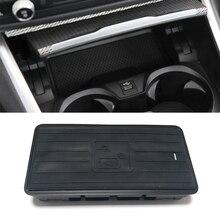 Cargador inalámbrico QI de 10W para BMW Serie 3, G20, G28, 325I, 330I, 2019, 2020, placa de carga inalámbrica, accesorios