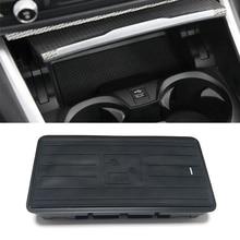 شاحن لاسلكي QI بقوة 10 واط لسيارات BMW 3 Series G20 G28 325I 330I 2019 2020 شاحن هاتف لاسلكي ملحقات لوحة شحن