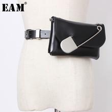 [Eem] Pu deri broş dekorasyon Metal zincir Mini çanta kemeri kişilik kadın yeni moda tüm maç bahar sonbahar 2020 JZ147