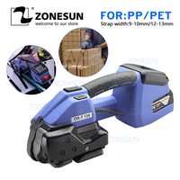 ZONESUN çemberleme makinesi 110v veya 220v ORT 130 akülü plastik şerit sarma aleti makinesi