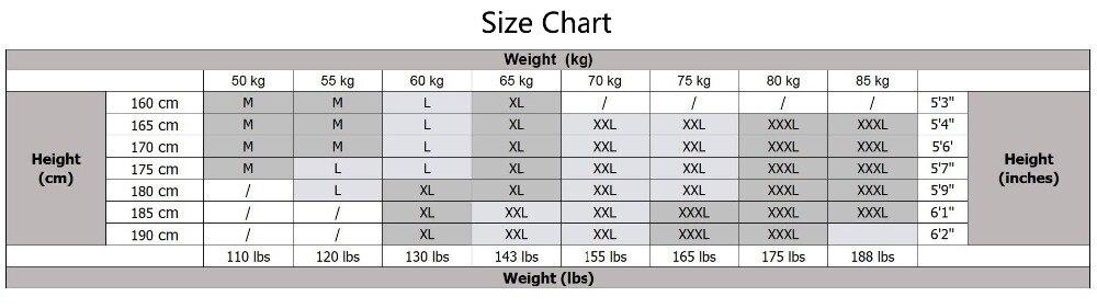 体重M-3XL