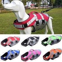 Gilet de sauvetage réfléchissant pour chien, vêtement d'été pour petit et moyen gabarit, harnais pour animaux de compagnie, costume de bain, bouledogue français