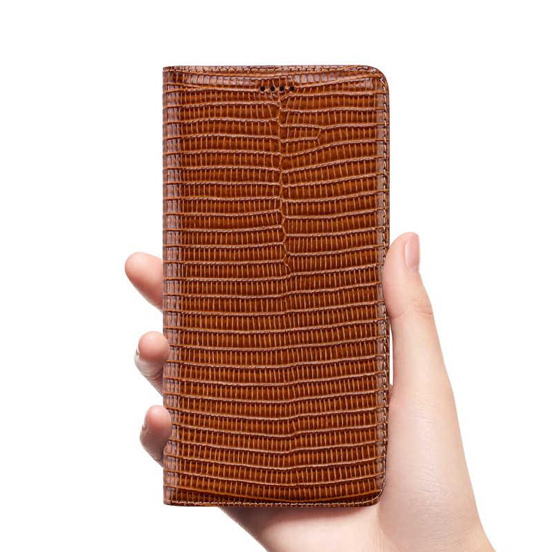 Couro de couro genuíno cartões slot titular caso do telefone para xiaomi mi6x/xiaomi mi6/xiaomi mi5x/xiaomi mi5 flip capa coldre coque