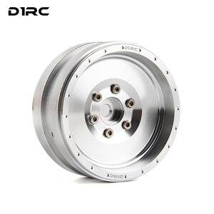 Image 1 - D1RC 1.9 Beadlock jant tüm 1:10 1:8 paletli araba parçaları eksenel TRX4 olmayan VP tekerlek