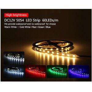 Image 2 - חדש הגיע בהיר LED רצועת 5054 DC12V גמיש LED אור & RGB LED רצועת 5050, 5054 הוא השדרוג של 5050.