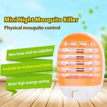 LED Socket Electric Mosquito Killer Lamp Home Fly Bug Insect Repellent Trap Mute Mute