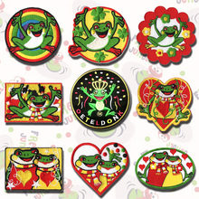 Prajna oeteldonk эмблема полная вышивка лягушка карнавал для