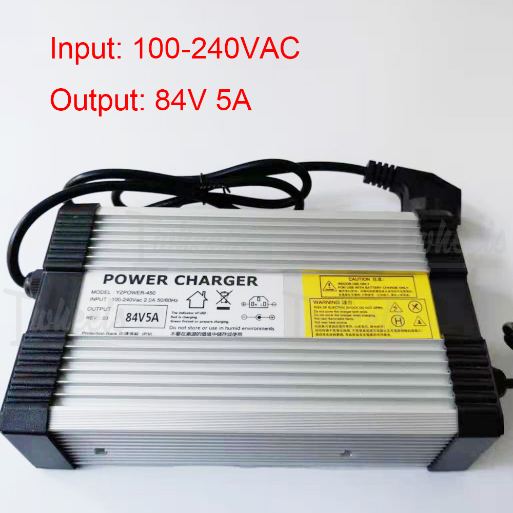 Quick Charger For KS16X KS18L KS18XL 84V 5A Charger KS Wheels Electric Unicycle Charger