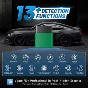 Image 1 - Vgate vLinker FD + ELM327 블루투스 4.0 FORScan 포드 와이파이 OBD2 자동차 진단 OBD 2 스캐너 J2534 ELM 327 MS 수 자동 도구