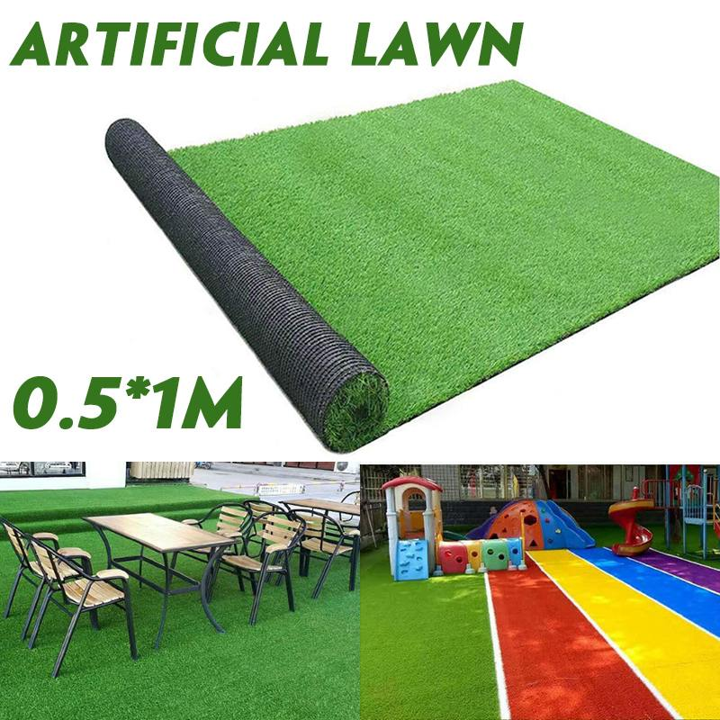 Super Density Artificial Lawn Turf Grass Artificial Lawn Carpet Simulation Outdoor Green Lawn For Garden Lawn Patio Landscape