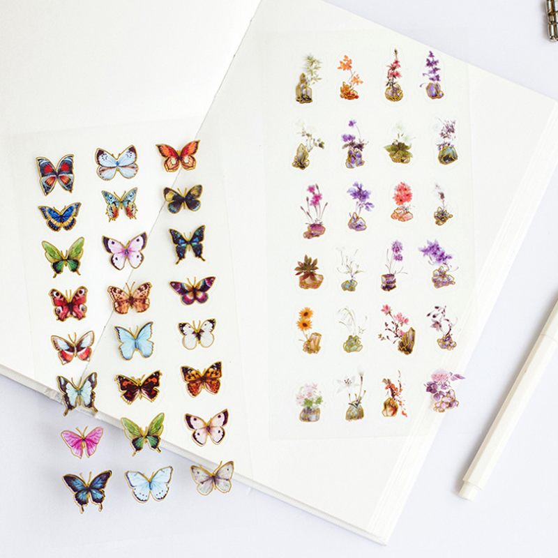 1pcs/lot Naturally Lovely Decorative Stationery Stickers Note Sticker Gift Sticker DIY